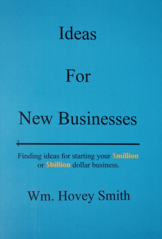 Hovey Idea for New Businesses Front Cover