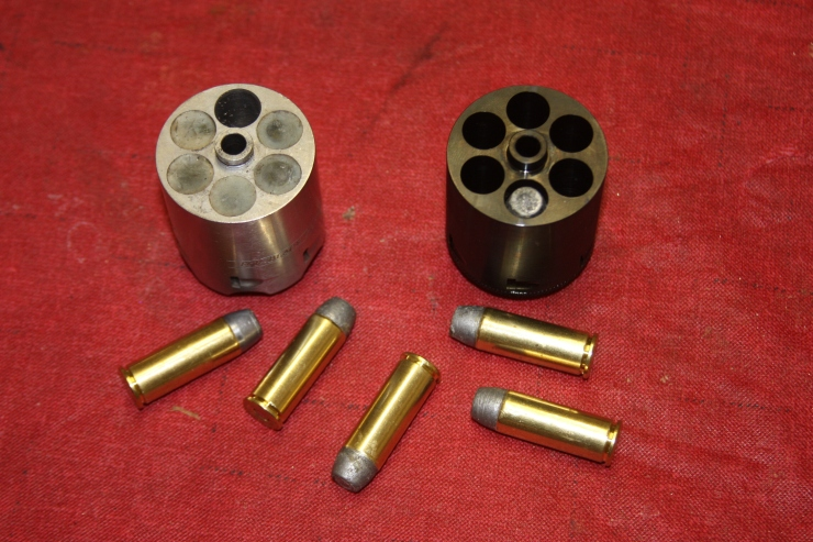 Ruger Percussion and .45 LC conversion cylinders